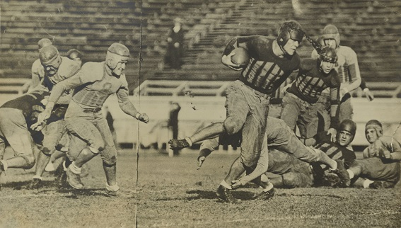Loyola football game, 1930s